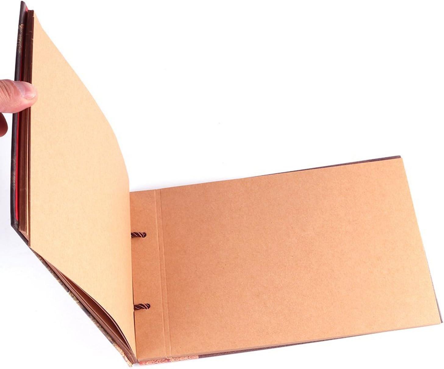 GRT Il nostro libro davventura la nuova versione aggiornata del ricamo di Hard Cover Scrapbook suede mano album DIY per compleanni matrimoni anniversari di Regali di Natale Accessori gratuiti