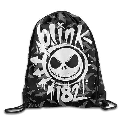 Blink 182 Halloween Jack y Sally saco bolsa cordón mochila Bolsa de deporte