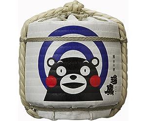瑞鷹 くまもと菰樽 (くまモン) 1800ml