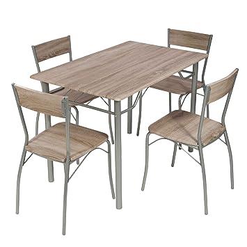 Esstisch mit 4 Stühle von MACO + Esstisch 110x70 cm ...
