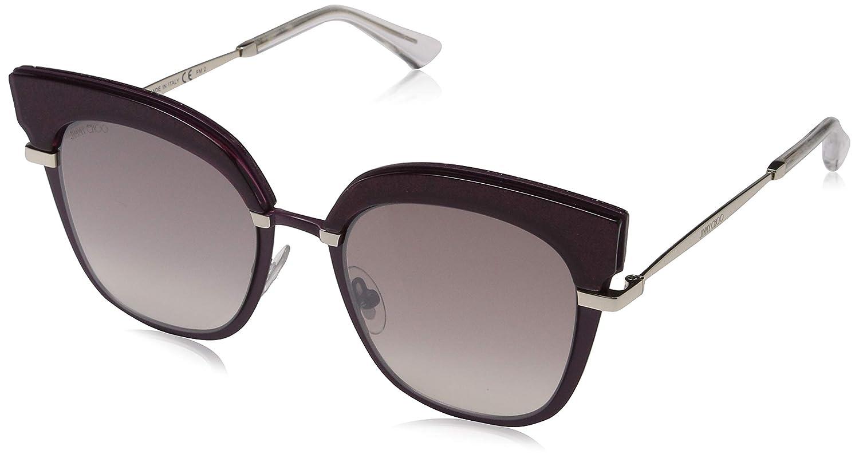 Jimmy Choo Rosy/S 92 2KJ Gafas de sol, Dorado (Cyclamen Lt Gd/Bw Black Brown), 51 para Mujer