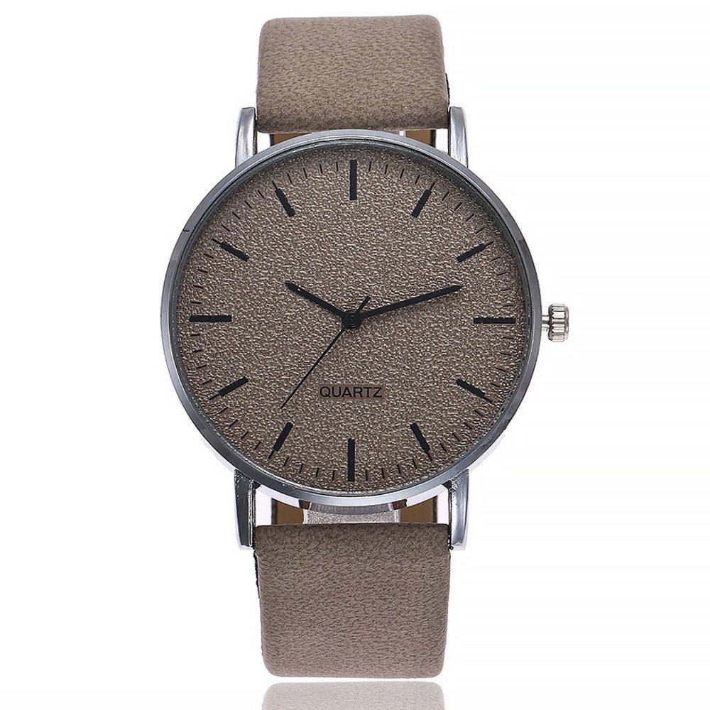 Yvelands Reloj analógico de Pulsera de Cuero de Cuarzo Casual Liquidación vansvar para Mujer (tamaño Libre,Azul): Amazon.es: Ropa y accesorios