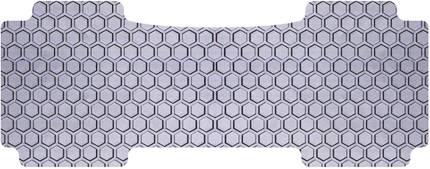 Gray Rubber-Like Compound Intro-Tech TO-787R-RT-G Hexomat Second Row 2 pc Custom Fit Auto Floor Mat for Select Toyota 4Runner Models