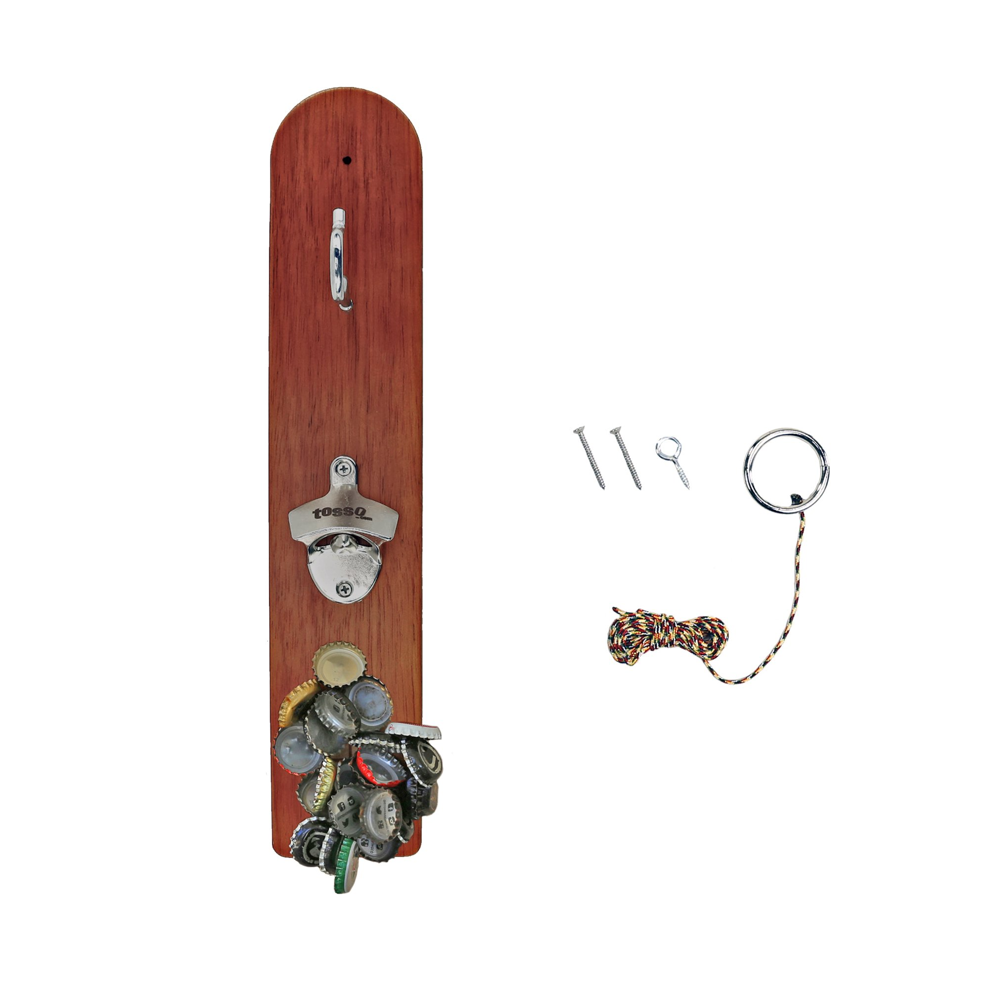 Hammer Crown Hook and Ring Game with Bottle Opener and Magnetic Bottle Cap Catch by Hammer Crown