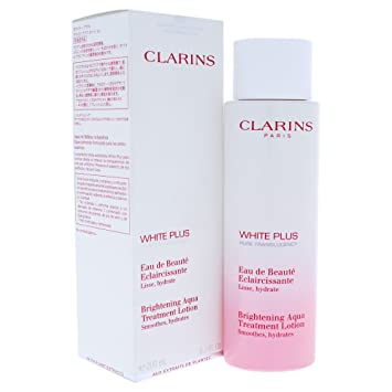 Amazon.com : Clarins White Plus Brightening Aqua Treatment Lotion, 6.7 Ounce : Beauty