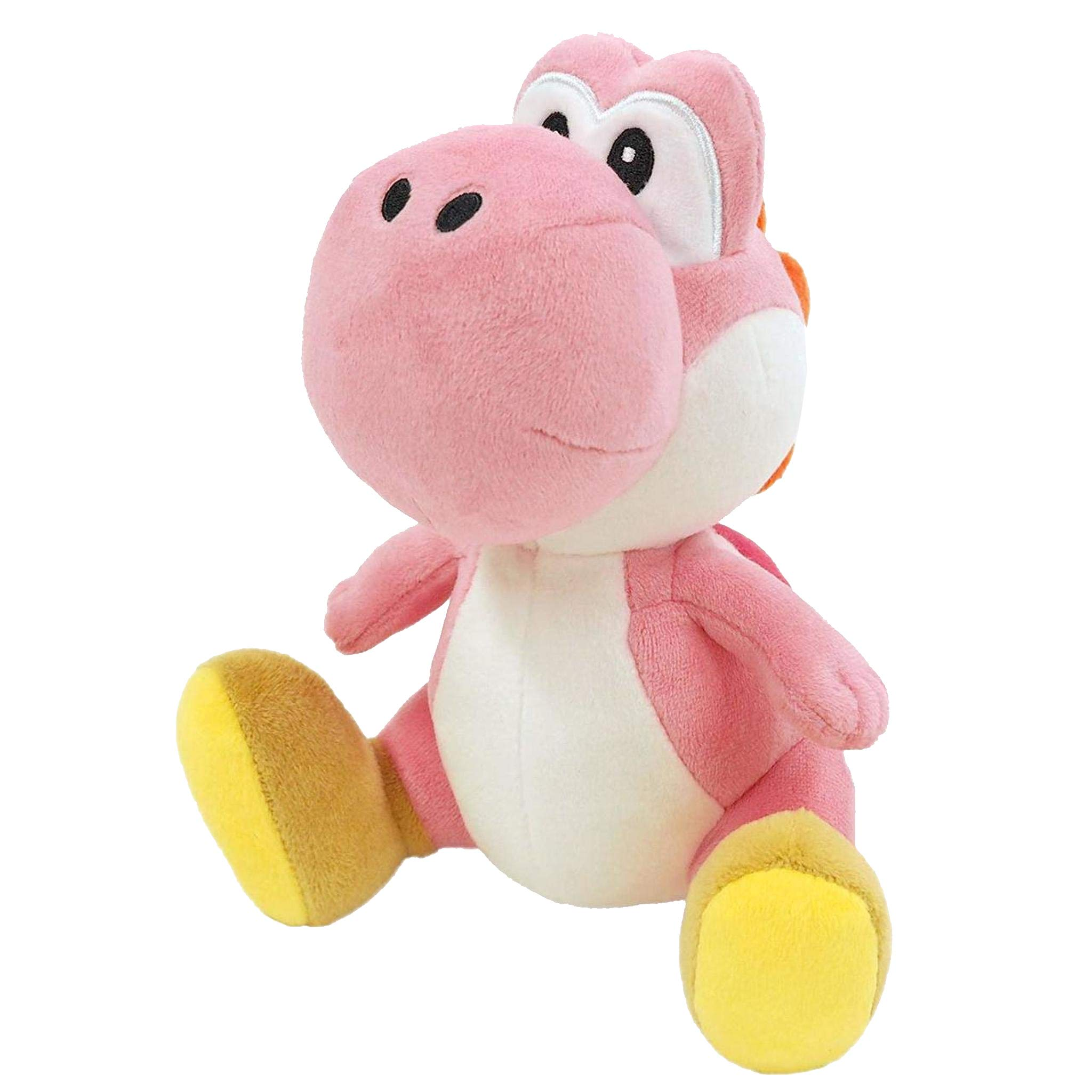 Little Buddy 1218 Super Mario All Star Collection Pink Yoshi Plush, 7'' by Nintendo