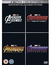 Avengers 1-4 Complete Boxset DVD
