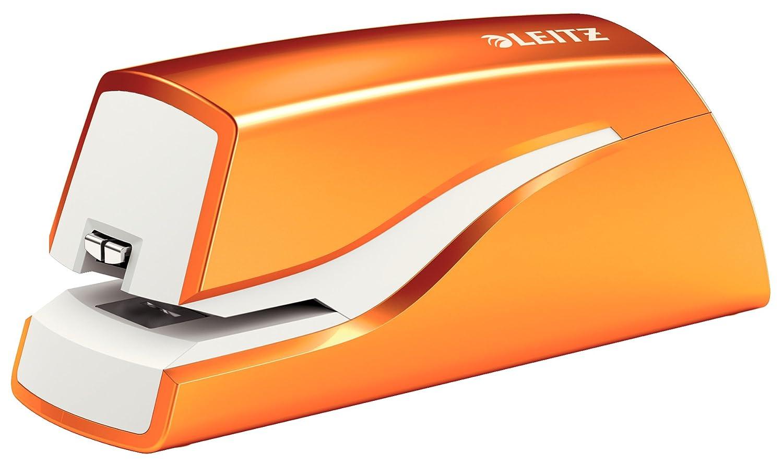 Leitz NeXXt Series Wow Electric Stapler Orange