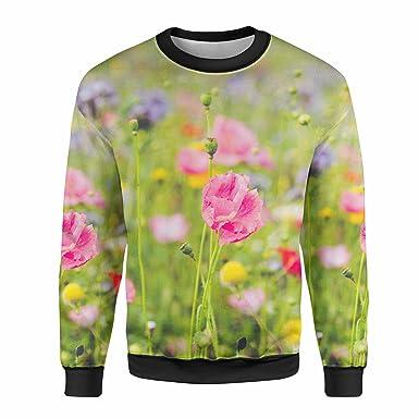 Wildflower Mens Sweatshirt