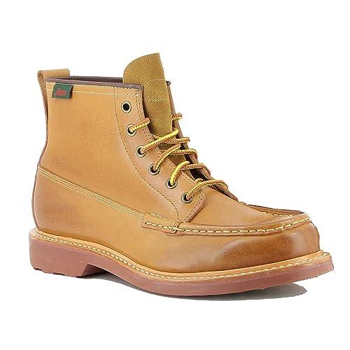 Mens Quail Hunter Mid Lace Leather Boots: Amazon.es: Zapatos y complementos