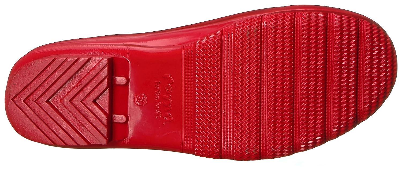 Roma Boots Women's Emma Classic Rain Boots B071DWNN73 10 B(M) US|Red