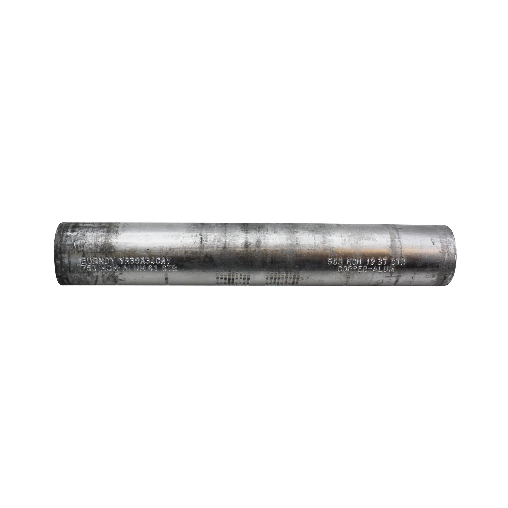 Burndy YR39A34CAY Aluminum Reducing Splice Connector for CU/AL, 750CU / 500AL KCMIL