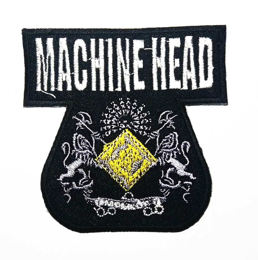 Music M American Heavy Metal Band Music Logo Patch Embroidered Sew Iron On Patches Badge Bags Hat Jeans Shoes T-Shirt Applique