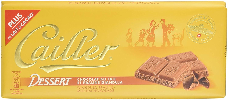 Cailler, Galleta fresca de oblea (avellanas Gianduja 19%) - 10 de 100 gr. (Total 1000 gr.): Amazon.es: Alimentación y bebidas