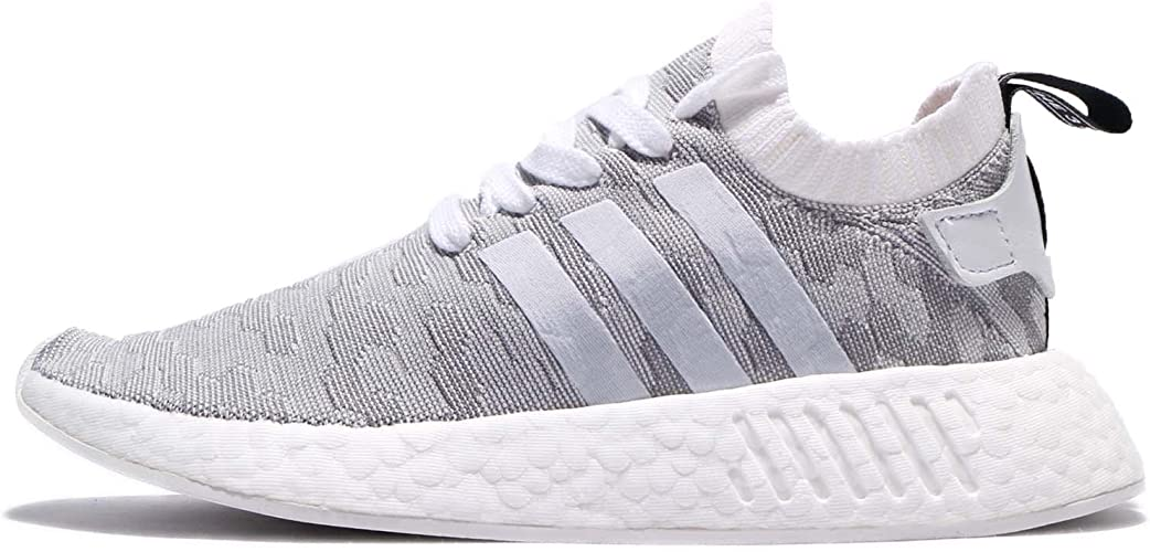 adidas Originals NMD R2 PK W BY9520 Damen Schuhe Weiß Grau Gr. EU 40 UK 6.5