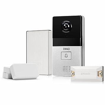 DING WiFi Video Doorbell u0026 6-Month Cloud Storage - Smart Home Hub and WiFi  sc 1 st  Amazon.com & Amazon.com: DING WiFi Video Doorbell u0026 6-Month Cloud Storage ... pezcame.com