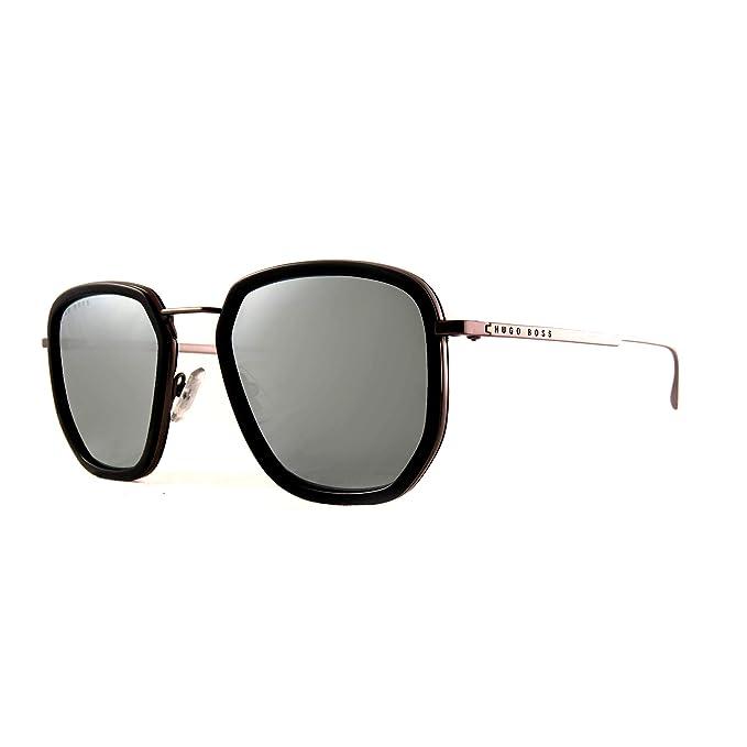 BOSS Hugo 1029/F/S - Gafas de sol para hombre Black/Gy Grey ...