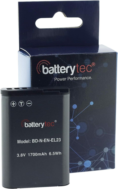 Batterytec Ersatzakku Für Nikon Kamera Nikon En El23 Camera Photo