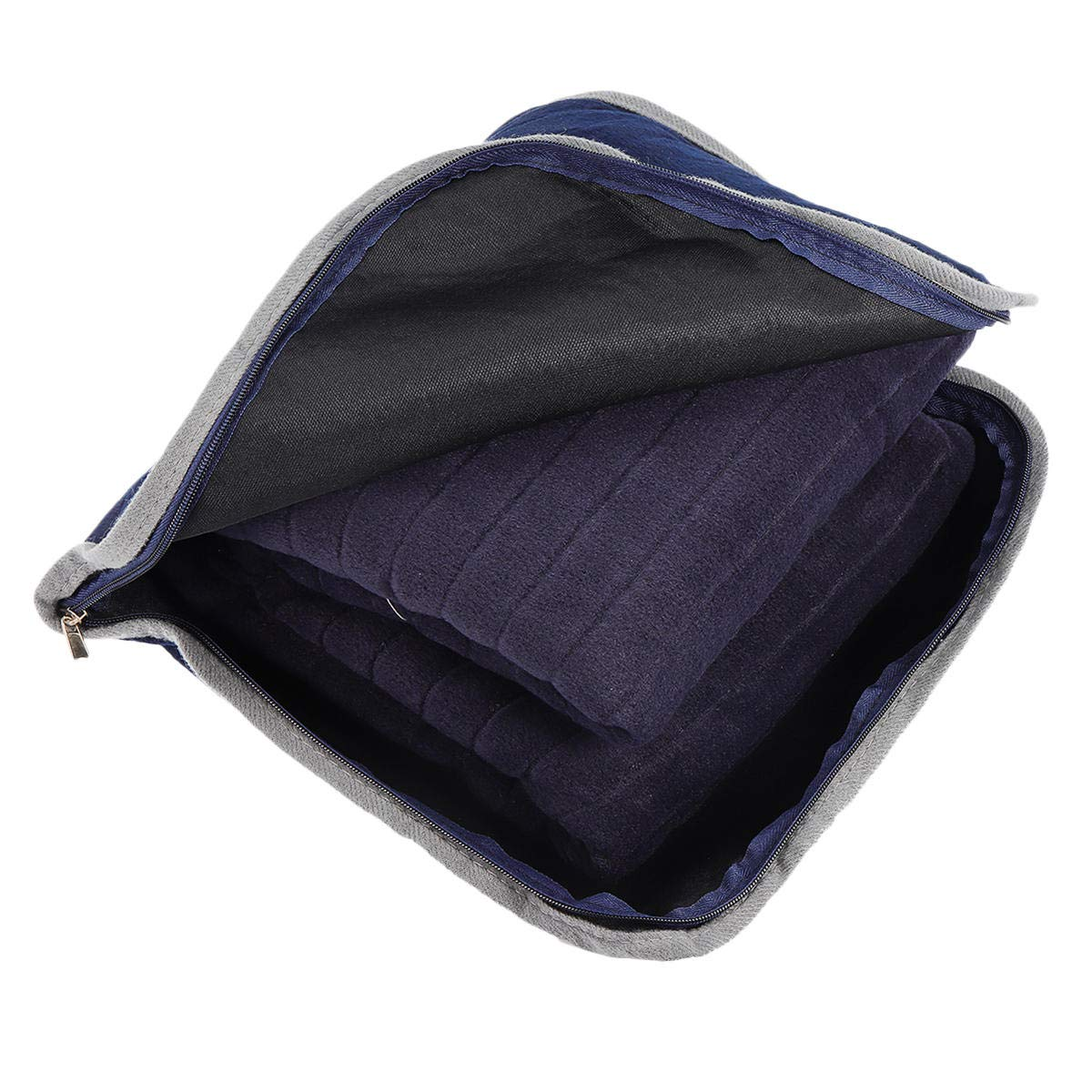 Navy Blue Warm Blanket - Sports & Outdoor - 1PCs by Unknown (Image #4)