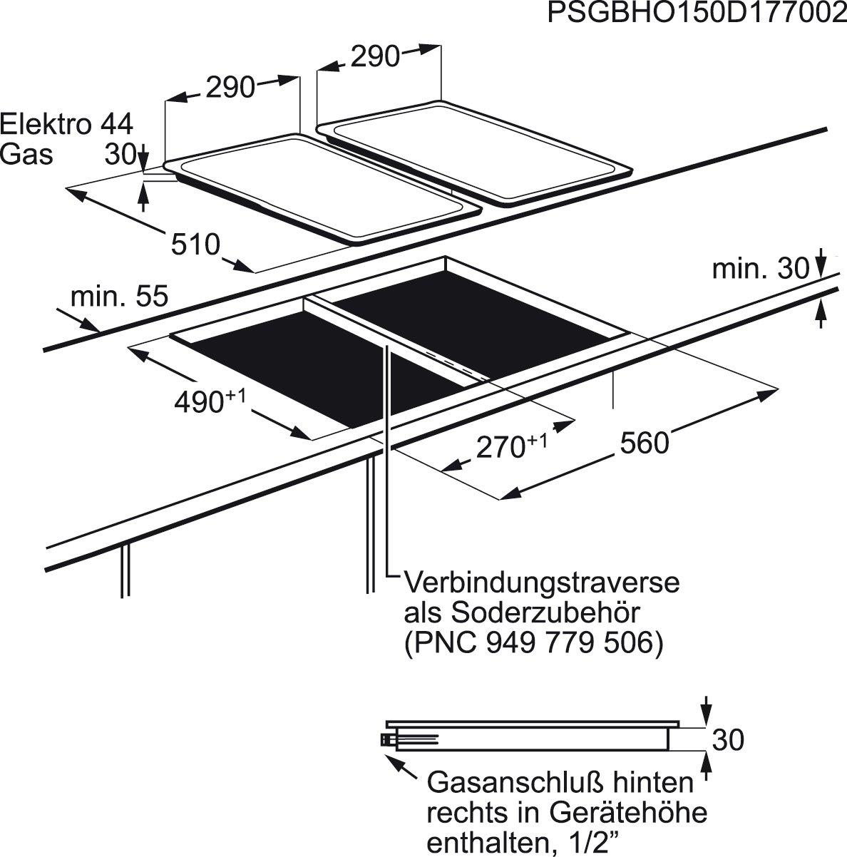 Zanussi ZES3921IBA - Placa Modular Zes3921Iba Con 2 Zonas Hi-Light