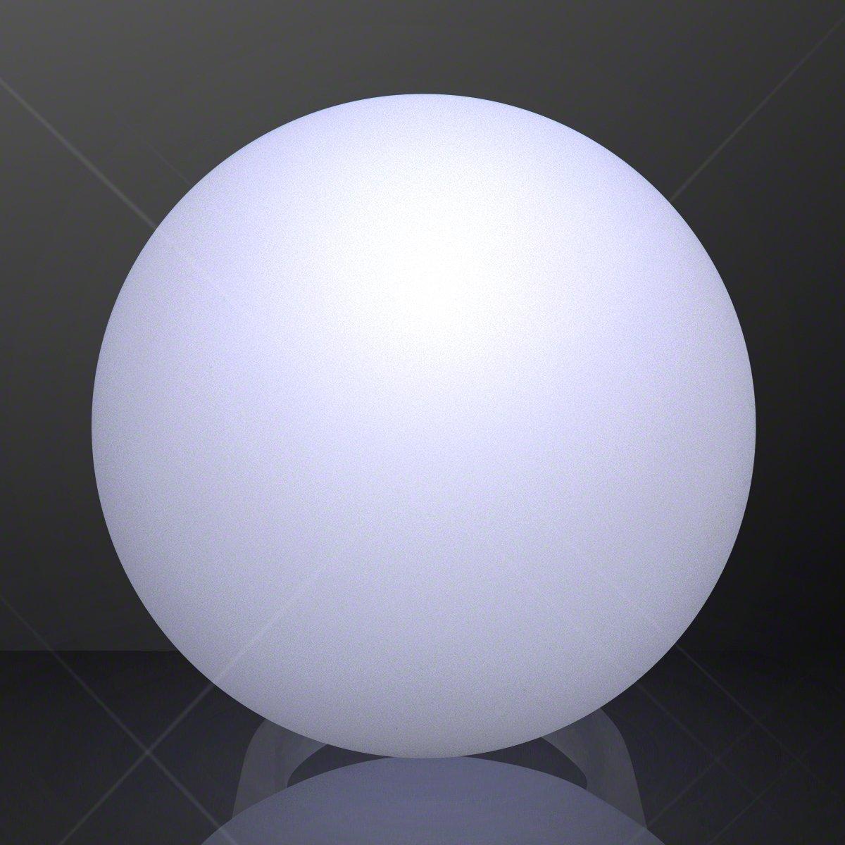 FlashingBlinkyLights White Magic Orb LED Deco Ball Ring (Set of 12) by FlashingBlinkyLights (Image #4)