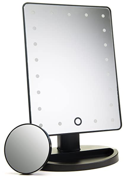 Attrayant Natural Daylight Lighted Makeup Mirror / Vanity Mirror With Touch Screen  Dimming, Detachable 10X Magnification