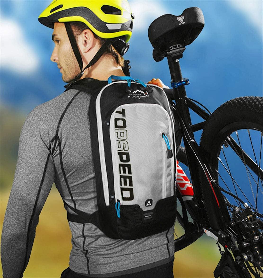 Janexi Hommes Multifonction Sacs /à Dos V/élo Loisirs Outdoor Sacs de Trekking Femmes Sac /à Dos de Sport Portatif Sac pour Cyclisme 8 litres
