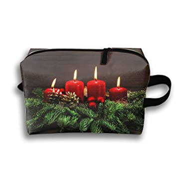 e7825d5b9ab7 Amazon.com : Cosmetic Bags Travel Portable Makeup Pouch Holiday ...