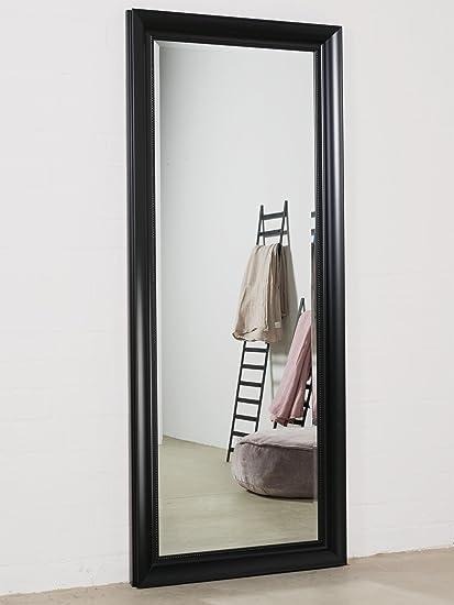 Negro 170 x 70 cm con elegante y simple marco espejo de pared 3 Ft10 ...