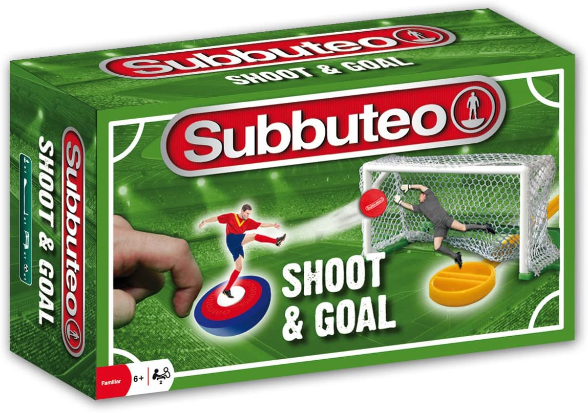 Hasbro Subbuteo Shoot and Goal, Ninguna (A5166105): Amazon.es ...