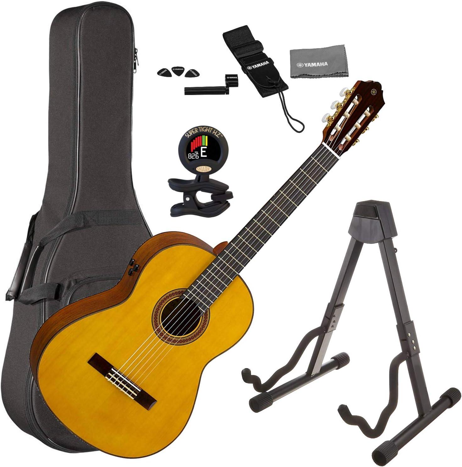Yamaha CG-TA TransAcoustic Nylon String guitarra acústica ...