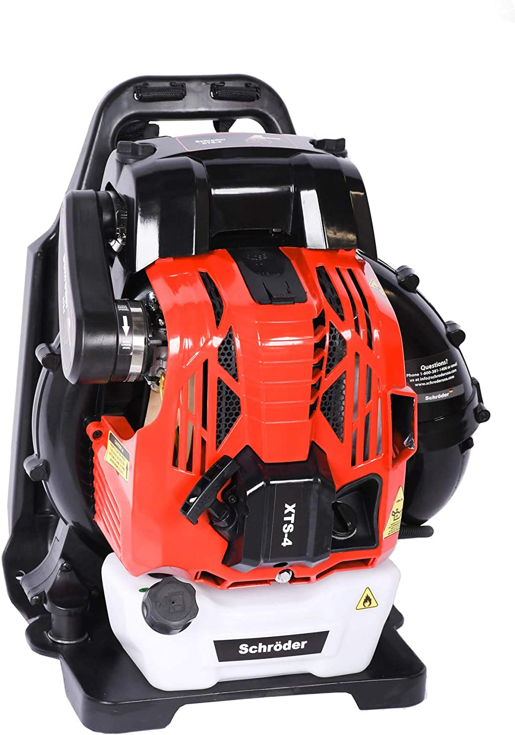 Schröder Backpack 4-Stoke Leaf Blower Model: XTS-4 80cc 865 CFM 220 MPH