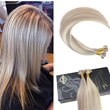 Keratin extensions hairstyle