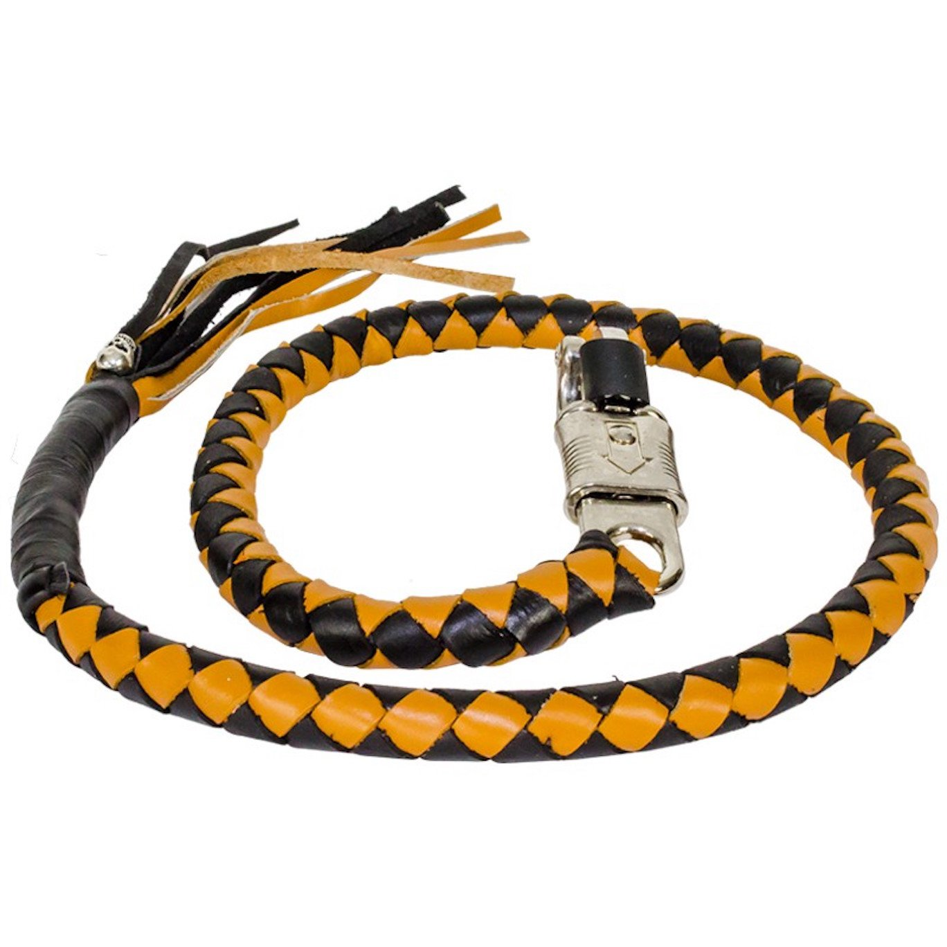 Black And Tan Get Back Whip For Motorcycles