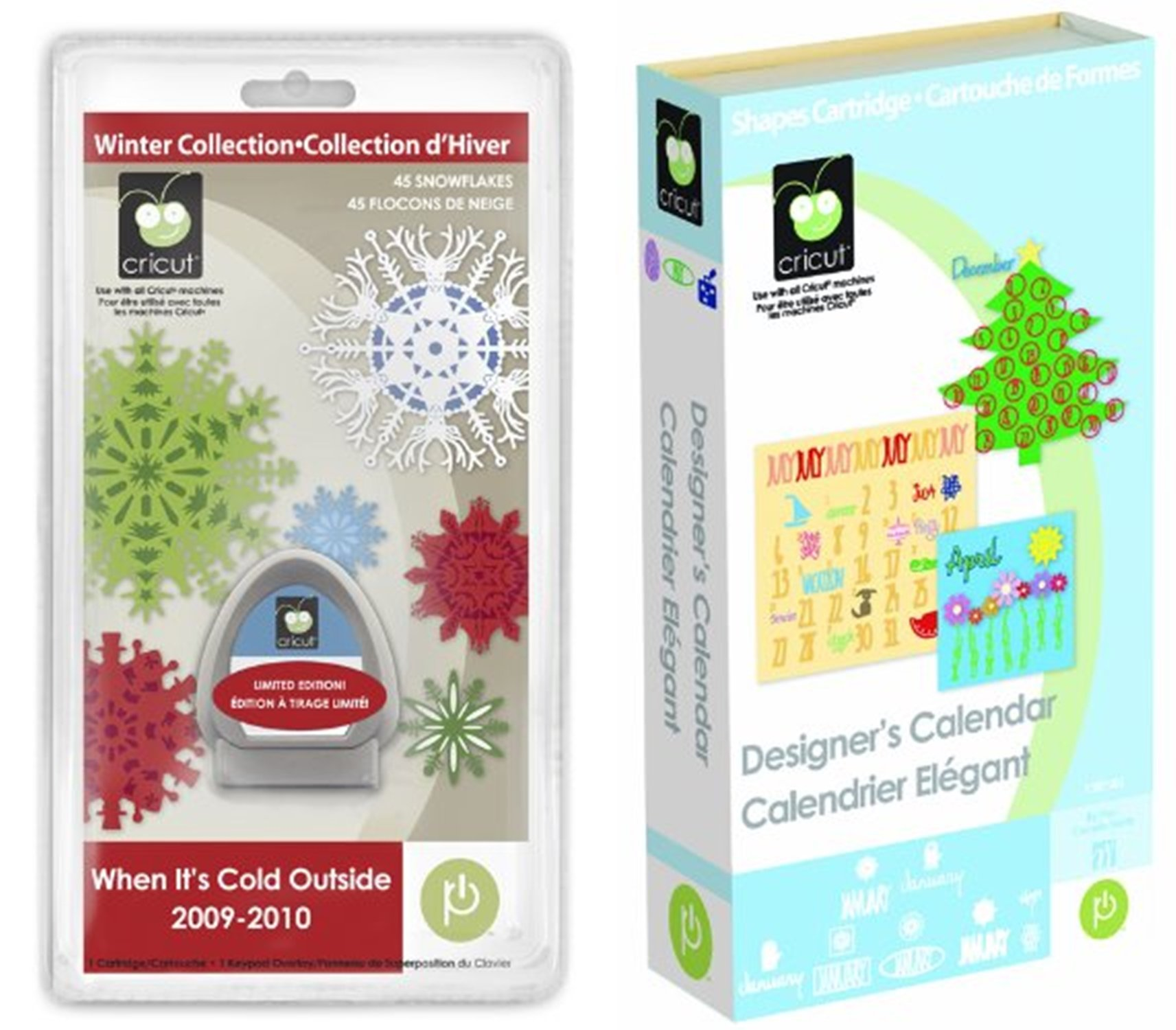 Cricut Designer's Calendar & When It's Cold Outside Bundle