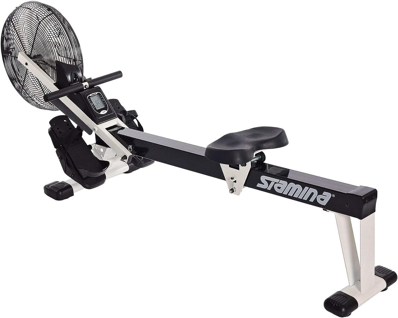 Black Stamina Air Rower Fitness Rowing Machine