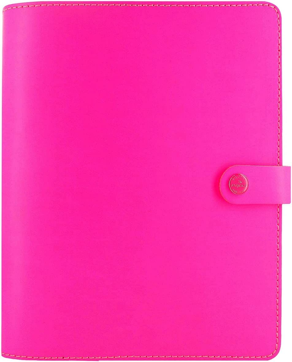 filofax original fluoro pink
