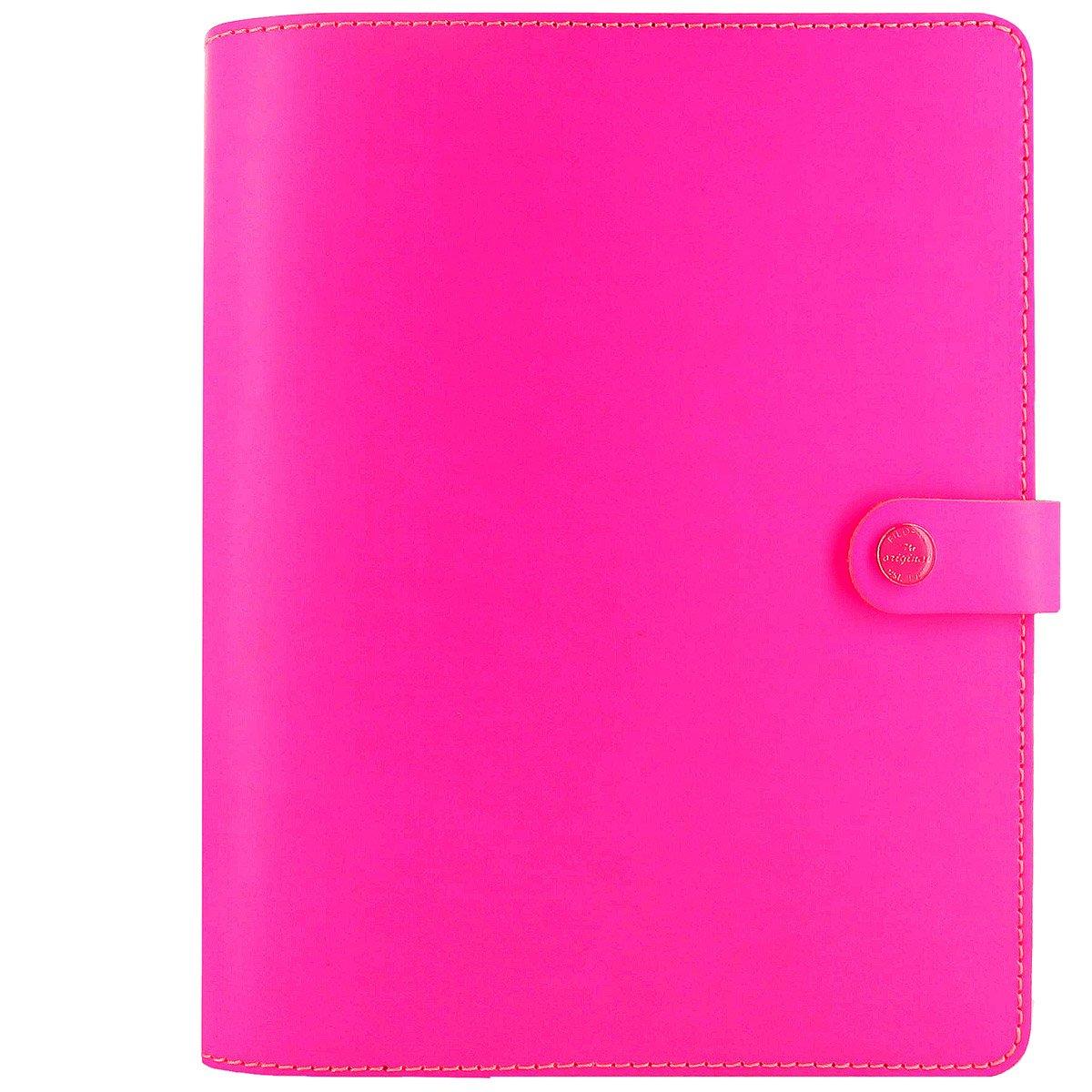 Filofax The Original A5 Fluoro Organiser - Pink