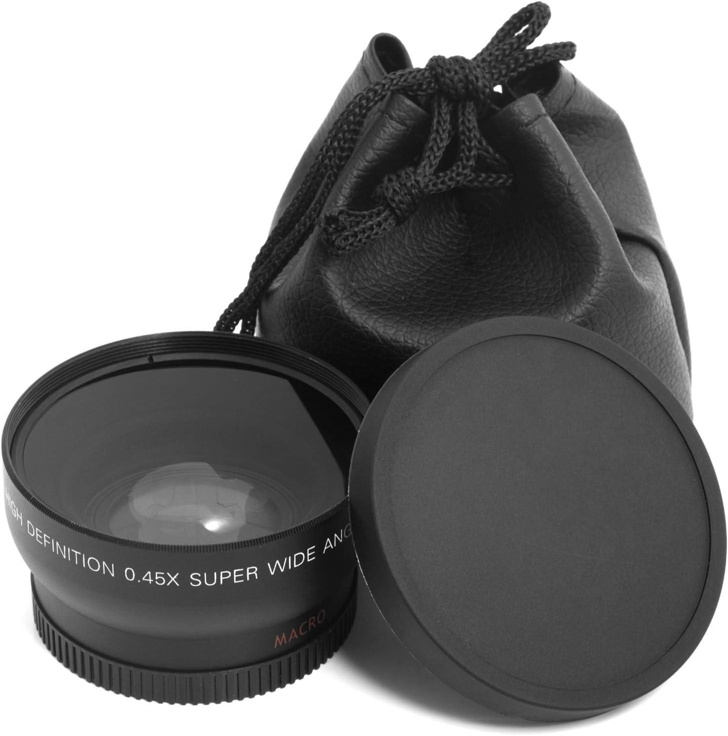 HD 52MM 0.45x obiettivo grandangolare con obiettivo macro per Canon Nikon 52MM fotocamera DSLR