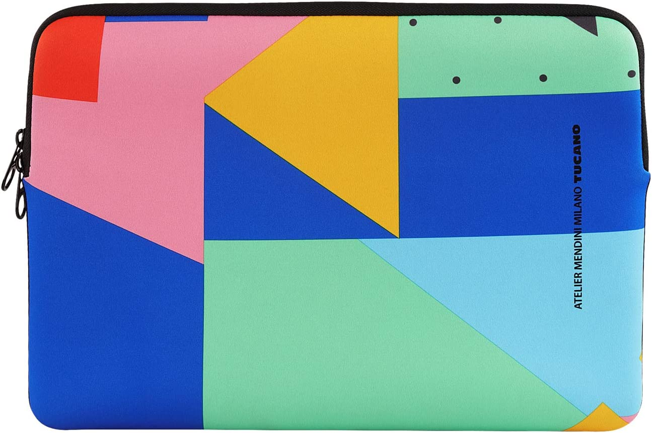 Shake Second Skin Custodia in Neoprene per Laptop 15.6 Multicolore Tucano