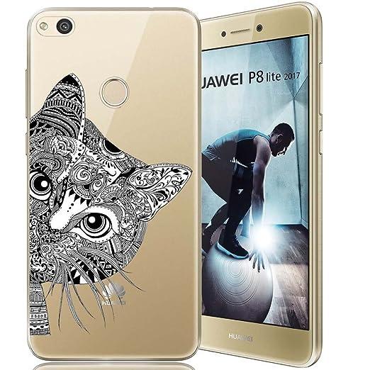 36 opinioni per Huawei P8 Lite 2017 Custodia, ocketcase® Morbido Flessibile TPU Gel Silicone