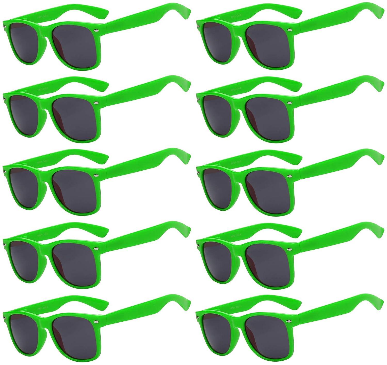 Amazon.com: Elegante clásico anteojos de sol lente ahumada ...
