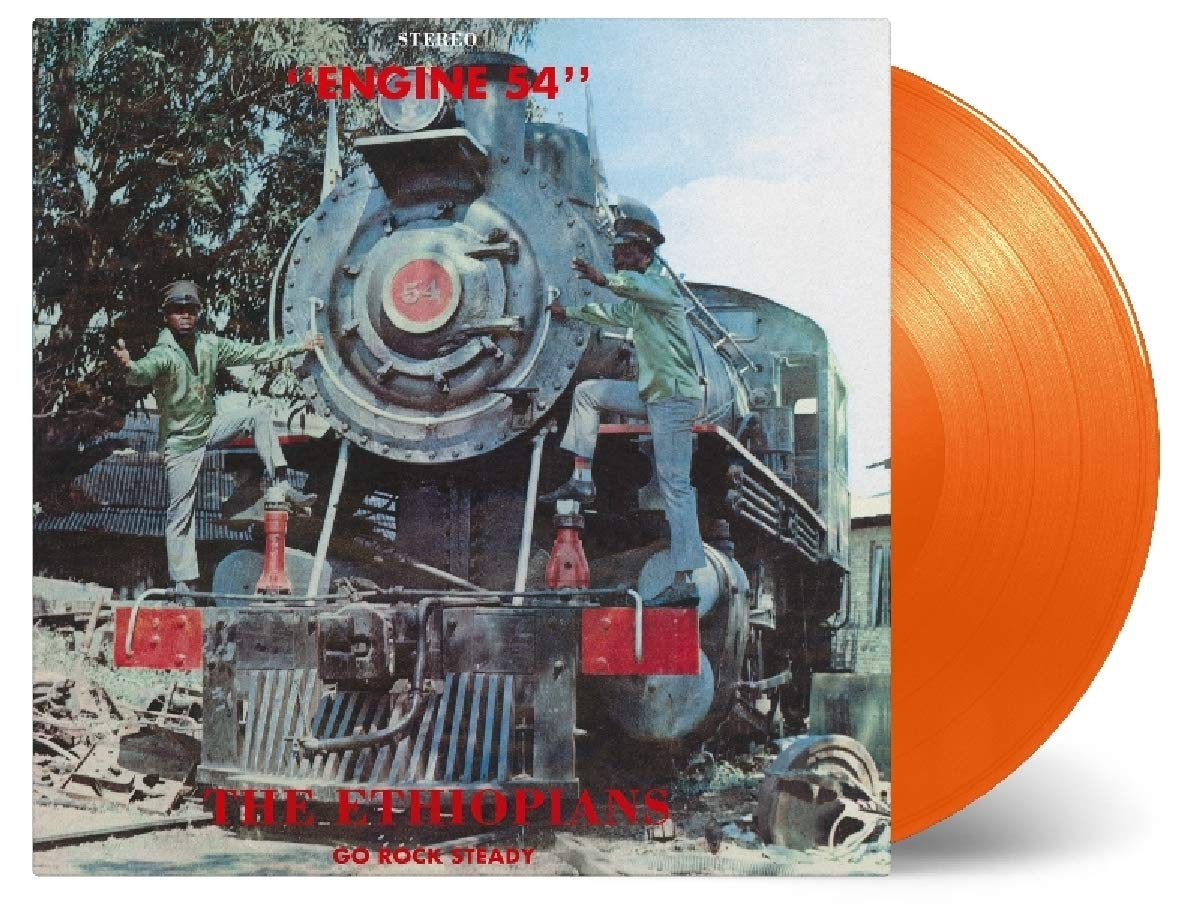 Vinilo : The Ethiopians - Engine 54 (Orange, Limited Edition)