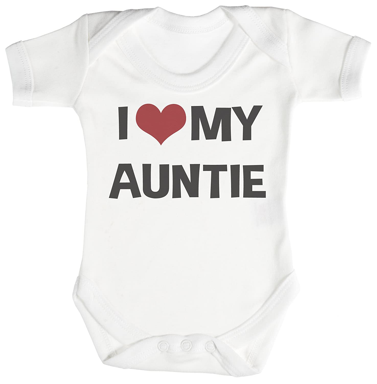 TRS I Love My Auntie Baby Bodysuit Babygrow Cotton Amazon