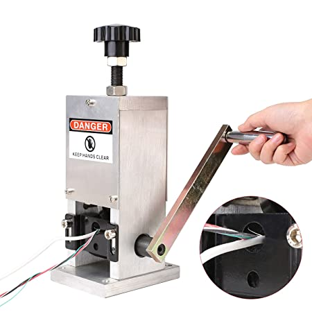 Scrap copper wire stripper automatic stripping