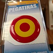 Artimagen Pegatina Diana España Resina ø 50 mm.: Amazon.es: Coche ...