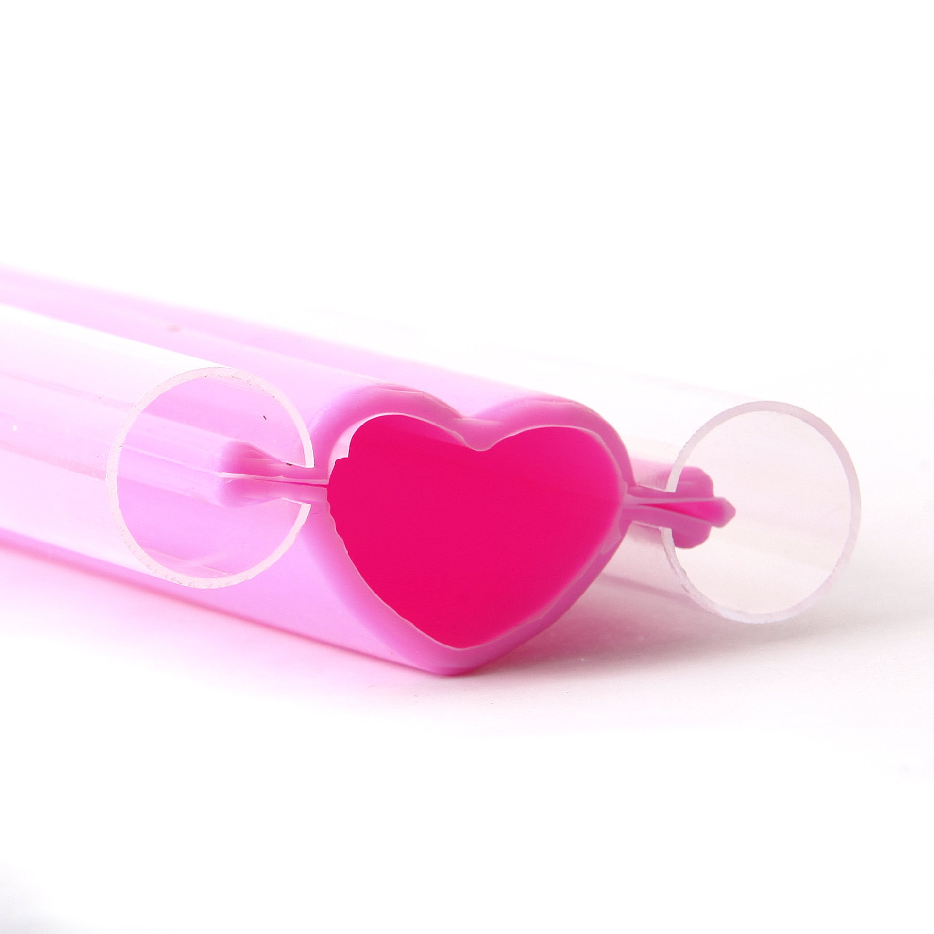 Large Heart Embed Silicone Mould x 10