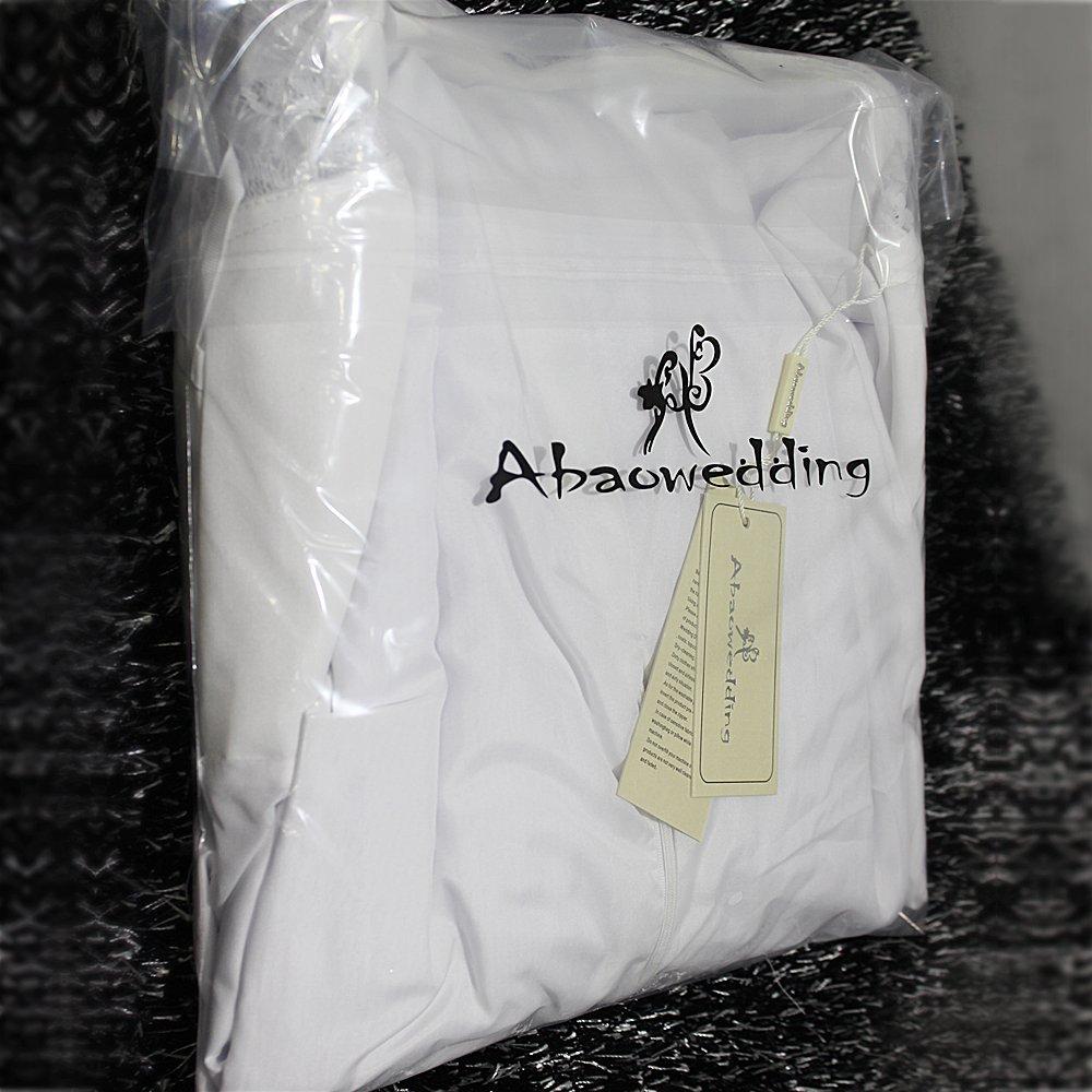Women's Summer Style Sleeveless Lace Wedding Dress Long White Tube Dress (size10)