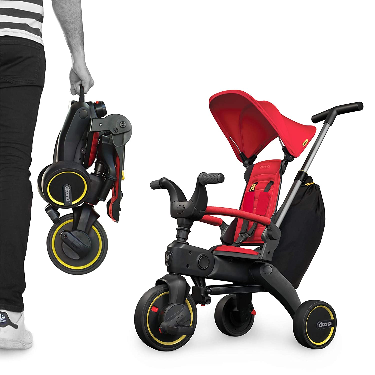 Liki Trike by Doona SP530-99-031-005 S3 - Triciclo Flame, colore: Rosso
