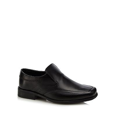 e63682a9e7 Debenhams Kids 'Boys' Black Leather School Shoes: Amazon.co.uk ...